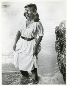 Leigh Hyams (née Martha Mae Nickerson), 1926 - 2013. Photo by Peter Olwyler.