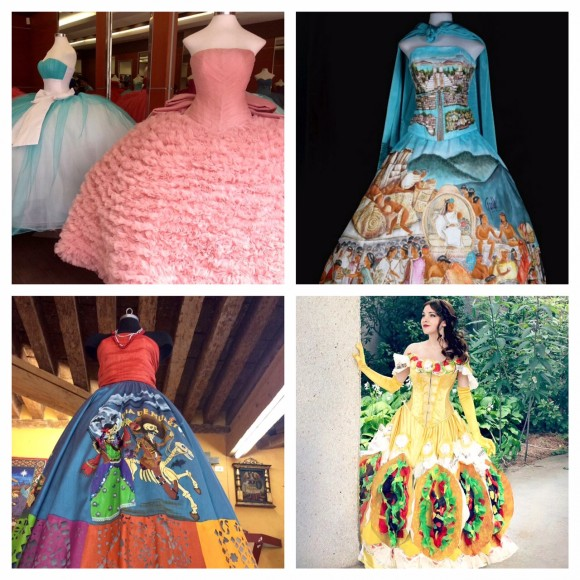 Mexican gowns